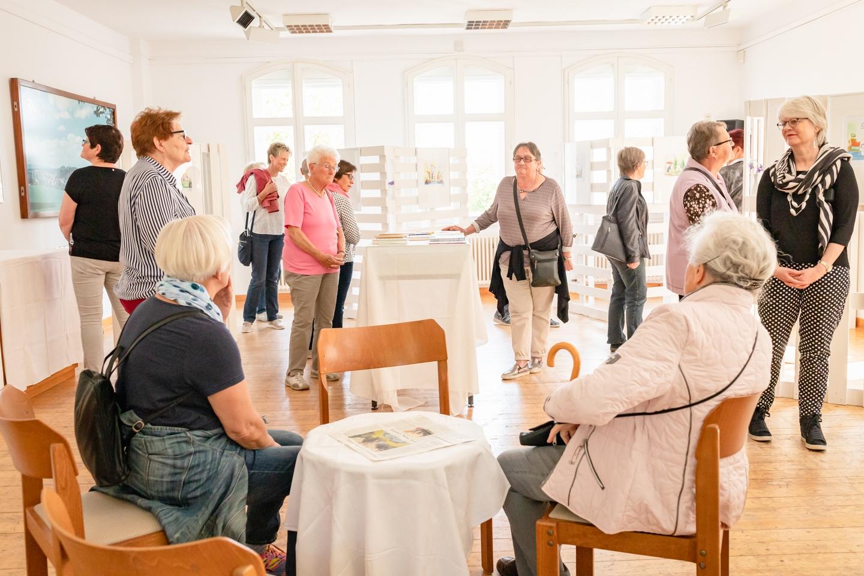 Ausstellung Demensch im Gerhardt-von-Reutern-Haus
