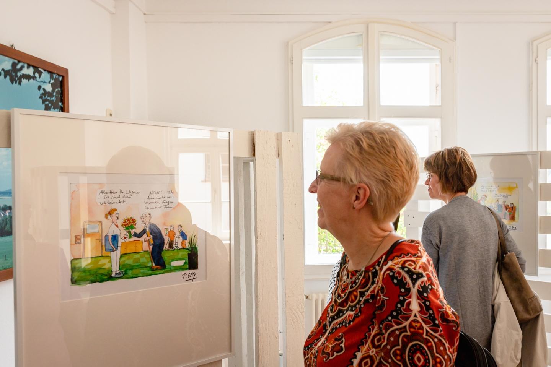 Ausstellung Demensch