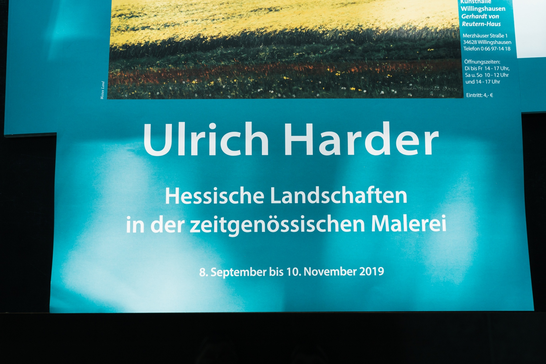 Vernissage Ulrich Harder