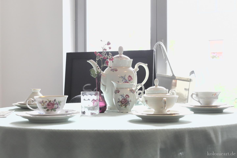 Kaffeetafel im Museumscafé
