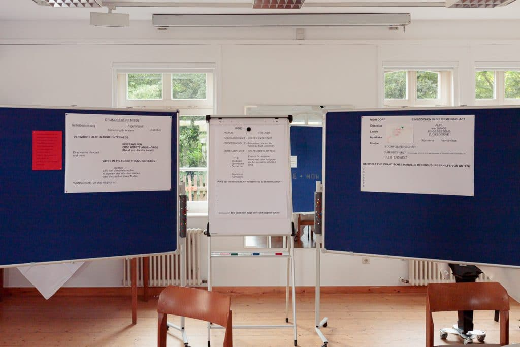 Arbeitsblätter: Ist unser Dorf demenzfähig - Workshop mit Margitta Braun