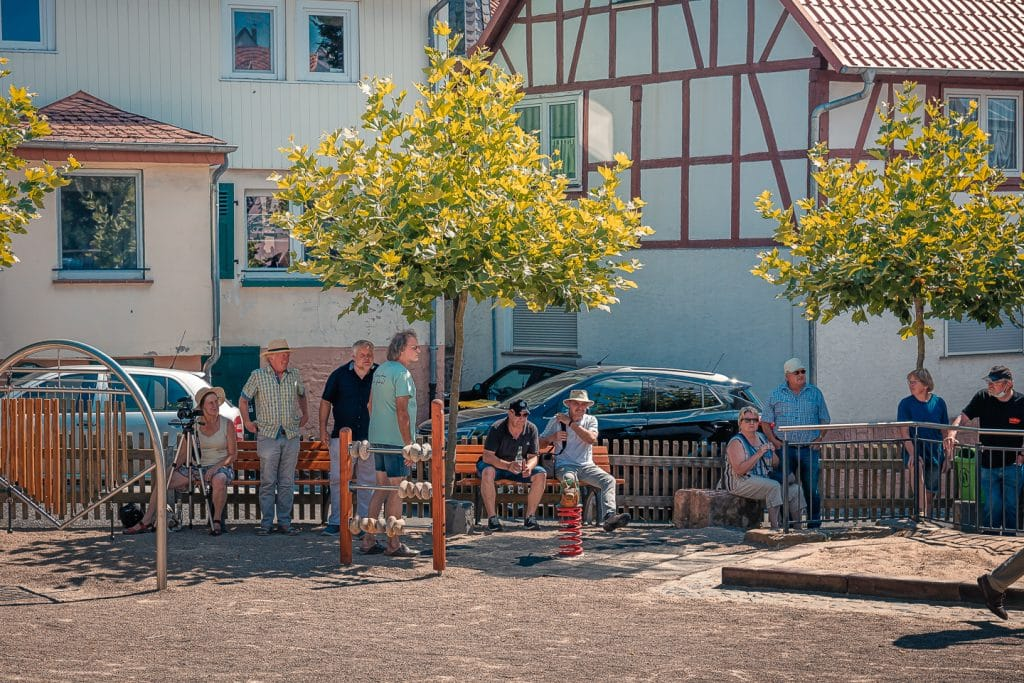 Eröffnung Dorfplatz