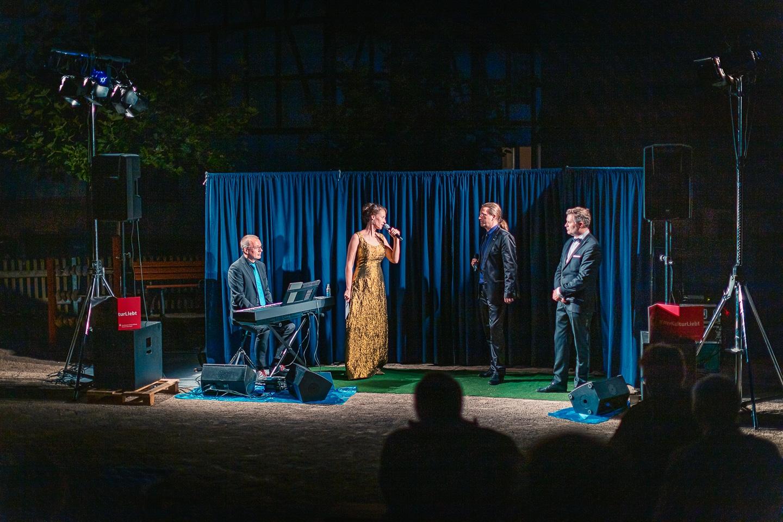 Vocal Recall auf dem Dorfplatz