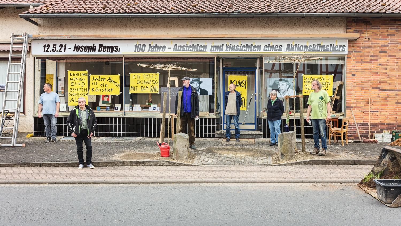 Neustädter Sieben - ART Dorfbelaubung